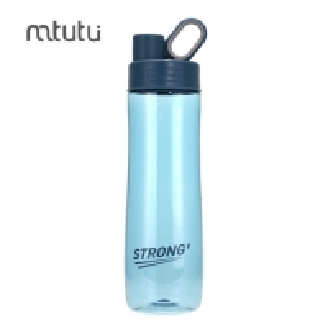 China Big Capacity Silica Gel 750ml Sports Plastic Water Bottles factory