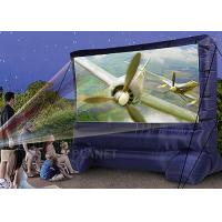 China Lightweight Inflatable Outdoor Projector Screen Fabric Material Apply To Home factory