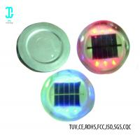 China 1.2V 800mAh Solar Road Studs 6 - Pack Blue Solar Powered Boat Dock Lights factory