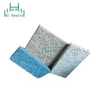 China Soundproof Interior Wall Wood Wool Panel Wood Panelling Wall Covering Sound Absorber Ceiling Tile on sale