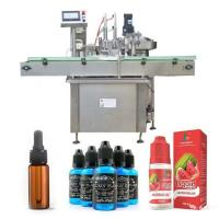 China Siemens PLC Control Oil Bottle Filling Machine For Plastic Or Glass Bottle factory