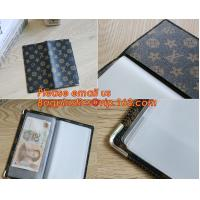 China A2/A3/A4/A5 plastisc display book with insert cover 20 pocket factory