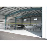 Buy cheap GB JIS Steel Airplane Hangars Prefab Aircraft Hangars Q235B Q345B from Wholesalers