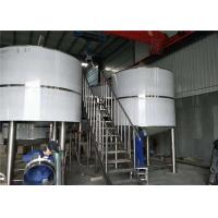 China SUS304 30 Bbl Micro Brewery Equipment With Excellent Performance factory