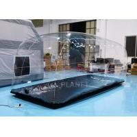China Durable Clear Advertising Inflatable Tent Bubble Blow Up Car Cover factory
