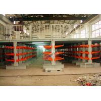 Buy cheap Industrial Orange Extra Heavy Duty Cantilever Racks For Plywood / Furniture Parts from Wholesalers