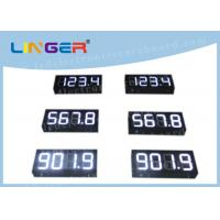 China IP65 Waterproof Digital Gas Price Signs Customized Design Installation factory