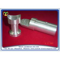 Buy cheap Aluminum Glass Clamp Custom Machined Parts With Sand Blasting Or Brushing from Wholesalers