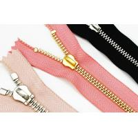 China Customize # 5 Black Nickel Open End Zippers For Shoes Bag Clothes anti-brass plated on sale
