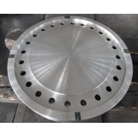 China Forged Disc Tube Sheet Finish Machined For Heat Exchanger , Stainless Steel Brake Discs factory