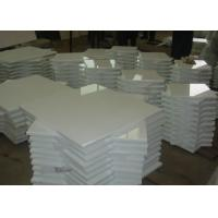Pure White Nano Glass Tile For Interior / Exterior Wall 305x305mm - 600x600mm