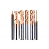 China HRC45 Degrees AlTiN Coating Carbide Ball Nose End Mill for Steel Iron and Aluminum Processing on sale