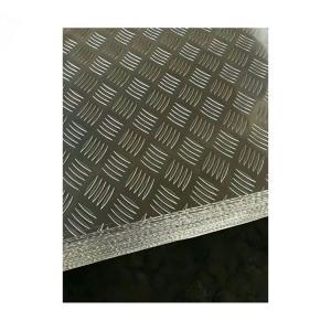 China 0.4mm - 7mm Thickness Diamond Plate Aluminium Sheet 3003 3A21 For Anti Slip Floor factory