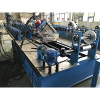Buy cheap High Speed C Purlin Roll Forming Machine 75kw 70mm soild shaft from Wholesalers