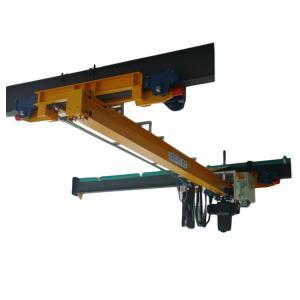 China LX Electric Single Beam Bridge Crane /  Suspension Crane Overhead 0.5-10 Ton factory