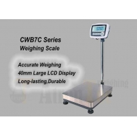 China Electronic Bench Scales with Large LCD Display,Mild Steel Accurate Weight Scale factory