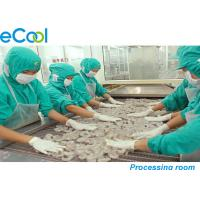 Buy cheap Custom Meat Processing Cold Room 3000 Tons , Cold Room For Frozen Seafood from Wholesalers