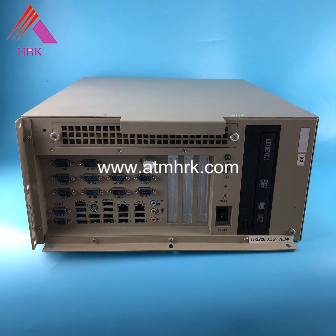 China Metal Material GRG ATM Parts IPC I5 3.3G 4GM 500GHD For Controlling Entire System factory