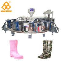 Buy cheap 1/2 color Fully Automatic PVC Farmer boots Injection Moulding machine boot making machine from Wholesalers