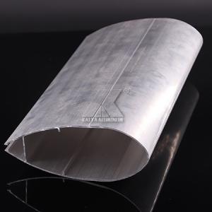 China Large Aluminum Outdoor Handrails , Aluminum Handrail Profiles Powder Coaitng factory