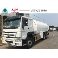Buy cheap HOWO Refuel Tank Truck 15000-25000 Liters Capacity With 340 HP Engine from wholesalers