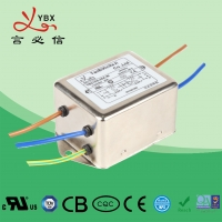 China OEM 30 Ampere EMI EMC Filter , Electromagnetic Interference Filter factory