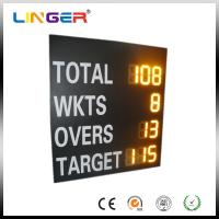 China High Brightness LED Cricket Scoreboard , Sports Scoreboard For OEM / ODM Acceptable factory