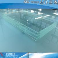 Buy cheap 15+15 high strength clear tempered laminated glass with CE certificate from Wholesalers
