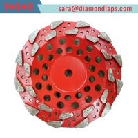 """China 4"""" Inch 5"""" Inch 7"""" Inch Star Type Segment Grinding Cup Wheel Concrete Gridning Discs diamond cup wheel factory"""