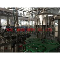 2 in 1 Grape Wine 750ml Bottle Filling Machine With Aluminum Cover Sealing Equipment