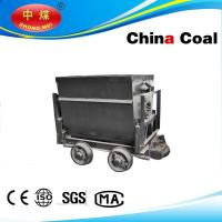 Buy cheap manufacturer ChinaCoal 600mm gauge bucket tipping mine car for sale from Wholesalers