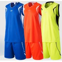 China Blue / Red / Yellow Custom Soccer Jerseys For Men Doing Excise , Fitness Custom Sleeveless Shirts factory
