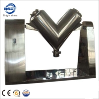 China SS304 OR 316 V-1000 Type Mixing Machine For Granular Materials That Can Control By Button factory