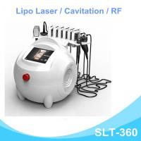 Buy cheap Powerful Lipo Laser Slimming Machine , Cavitation RF Body Reshaping Device from Wholesalers