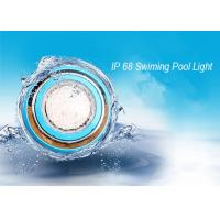 Buy cheap IP68 Wall Mounted RGB LED Swimming Pool Light / Outdoor LED Pond  Lamp from wholesalers