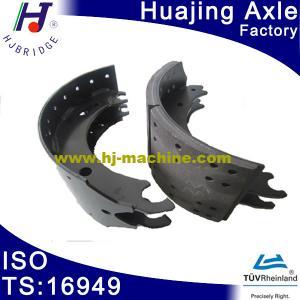 China Huajing high quality 12T brake shoes on sale