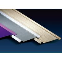 China 100mm Height Metal Ceiling Channel , Shops Aluminium Ceiling Tiles Sound Insulation factory