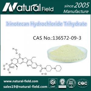 China Factory Supply CAS:136572-09-3 Irinotecan Hydrochloride Trihydrate factory