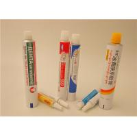 Buy cheap Cream Ointment Gel Aluminum Squeeze Tubes With Full Printing , Aluminum Pharma Tube from Wholesalers