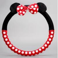 China New arrival car steering wheel cover cute cartoon steering wheel cover factory