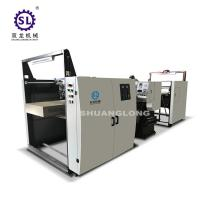 China Calander Paper Embossing Machine with Automatic Feeding System SLYW-920 factory