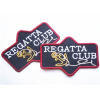 China Popular jeans leather patch labels for clothing Custom Embroidery Patches factory