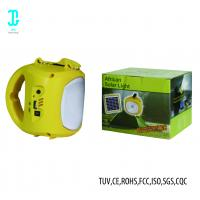 China Camping Solar LED Outdoor Landscape Lighting Solar Hand Lamp 35000-50000 Hrs factory