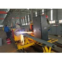 Buy cheap 1-50mm Thickness CNC Gas Cutting Machine , Cnc Plasma Tube Cutter from Wholesalers