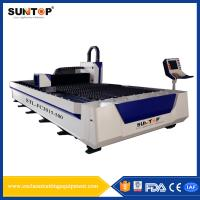 Buy cheap Titanium Alloy Silicon Steel Cutting Machine 1500 * 3000mm 380V/50Hz from wholesalers