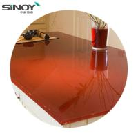 China Deco beautiful Lacquered Painted Glass With Paint factory