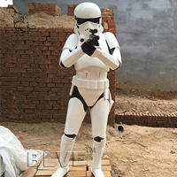 Buy cheap star wars stormtrooper life size sculpture resin craft art fiberglass anime from wholesalers