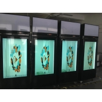 China 1920*1080 400cd/m2 Transparent LCD Panel 178º For Showcase factory