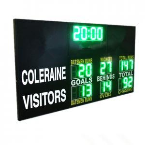China Customised Design LED AFL Electronic Scoreboard Portable Back Maintenance 60kgs factory