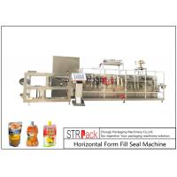 China Customize Horizontal Form Fill Seal Machine , Top Spout Pouch Packing Machine on sale